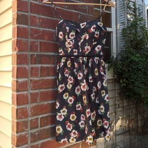 AE floral bustier dress